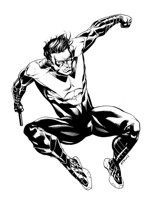 Nightwing SOTD by RobertAtkins on DeviantArt