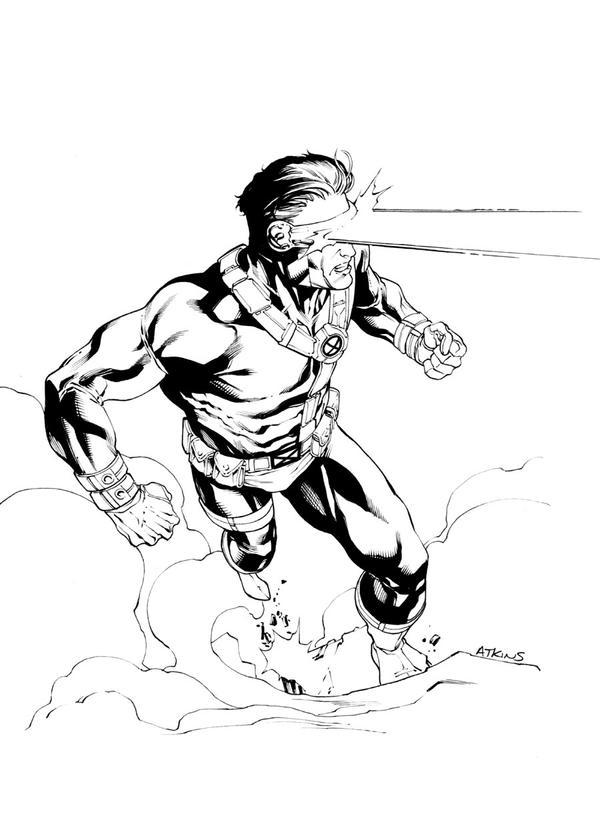 X Men Cyclops Drawings 90s Cyclops SOTD by Ro...