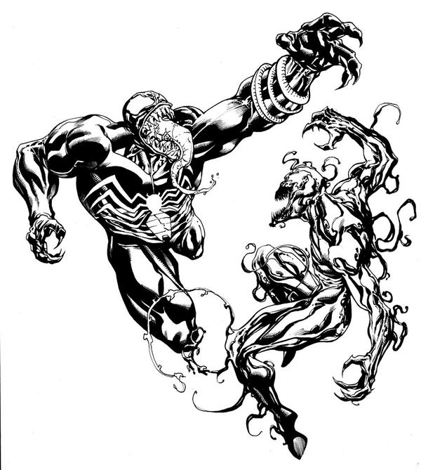 Venom and carnage sotd by robertatkins on deviantart - Coloriage a imprimer spiderman gratuit ...