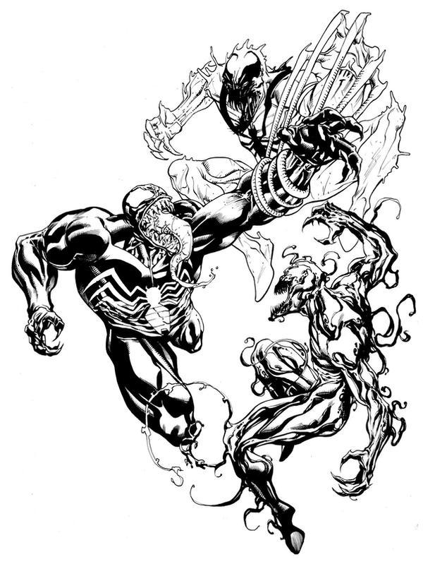 Venom Carnage and AntiVenom SOTD