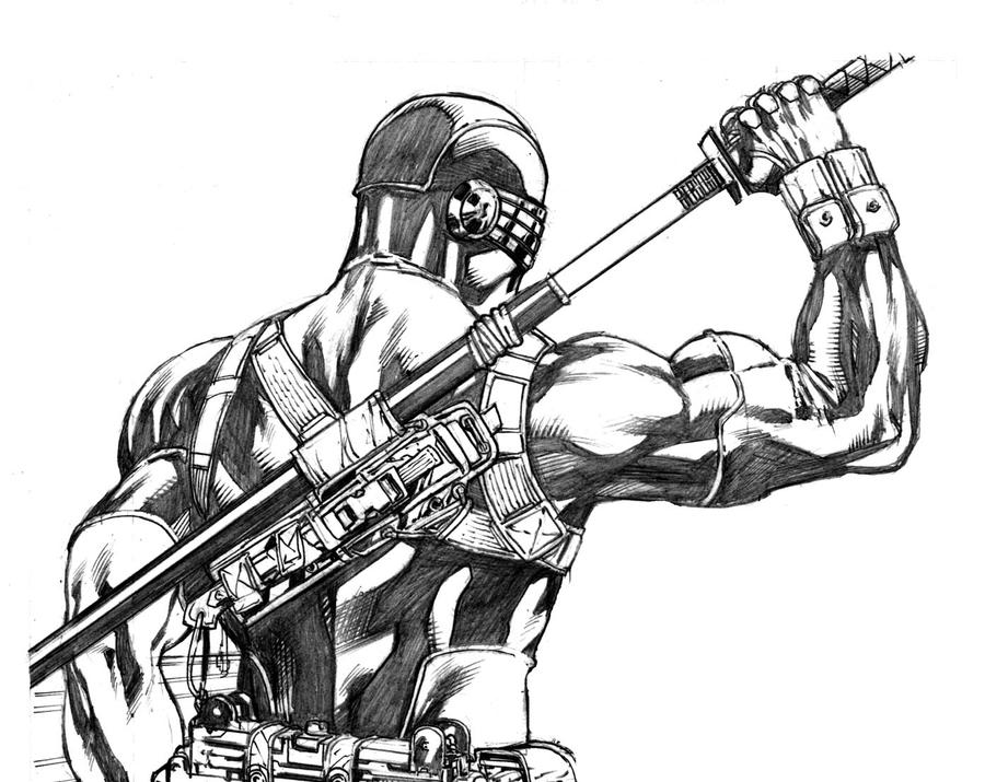 Snake Eyes 13 preview Costume design detail by RobertAtkins