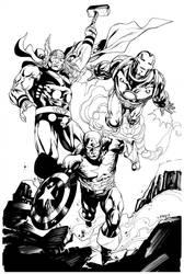 Avengers April Commission SOTD by RobertAtkins