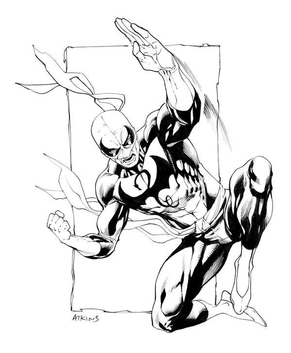 Iron Fist...again SOTD by RobertAtkins