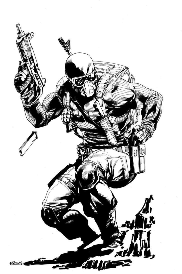 Snake Eyes Commission by RobertAtkins