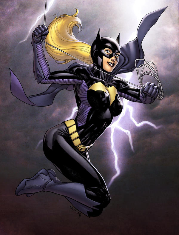 Batgirl SOTD Colored by RobertAtkins