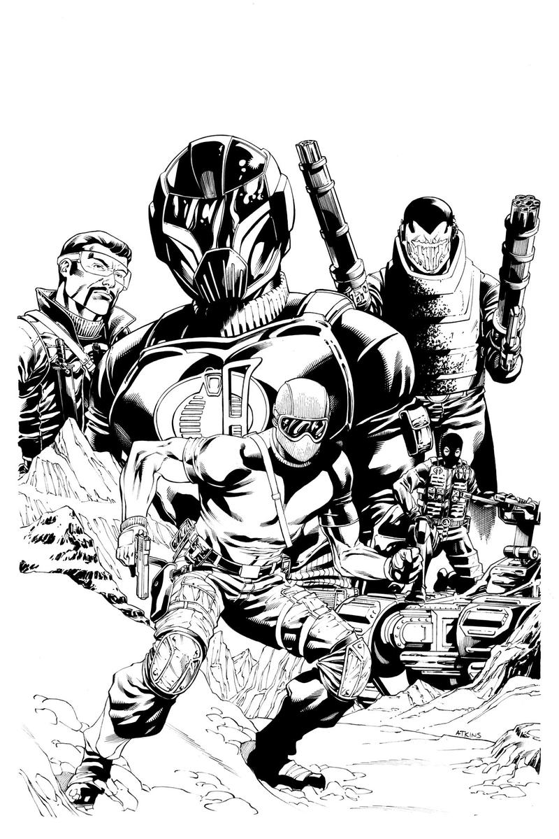 Canadian Joe Con Cover Inks by RobertAtkins