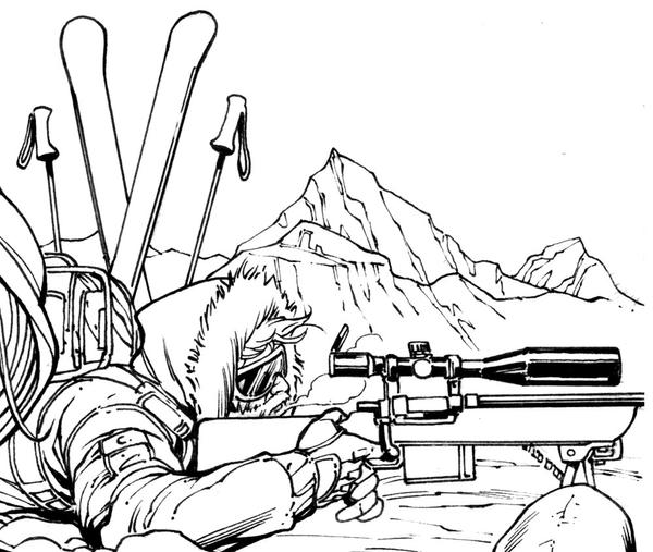Snow Job...GI JOE Cover sneak peek by RobertAtkins