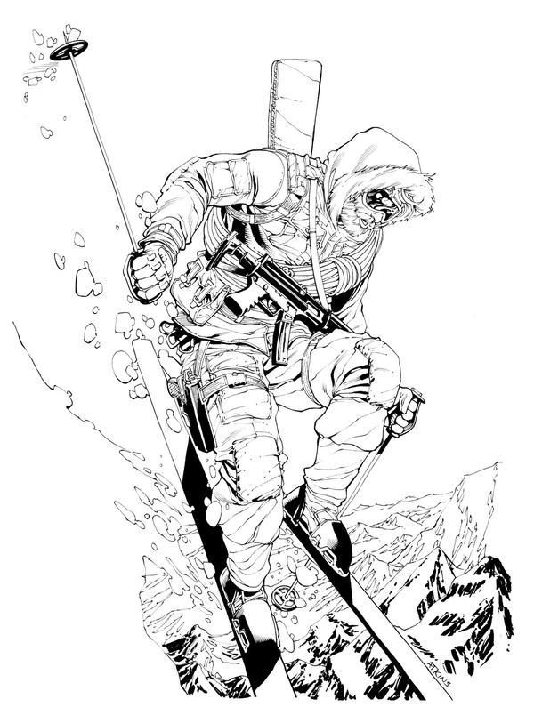 Snow Job SOTD by RobertAtkins