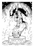 Spiderman 50th by RobertAtkins