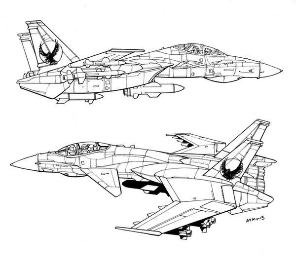 Jet Concept 2 by RobertAtkins