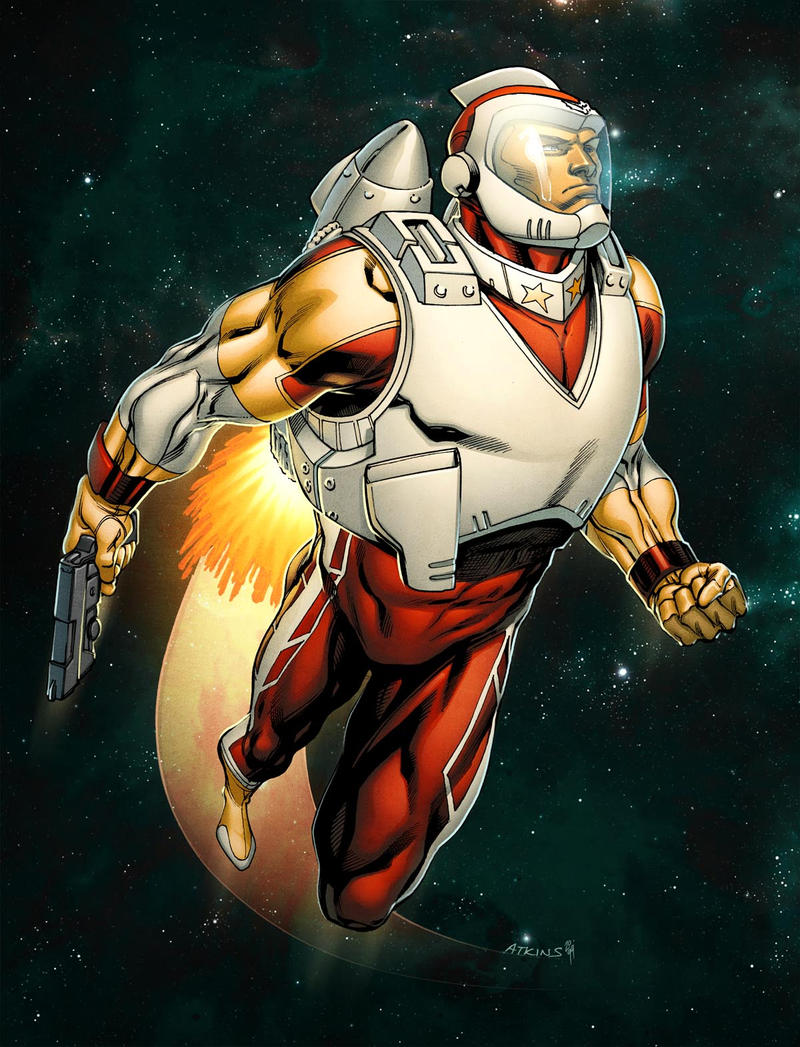 Adam Strange colored by RobertAtkins