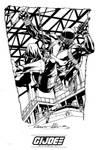 IDW limited Snake Eyes sketch