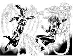 Bleeze Vs Karu Sil Lantern Girl fight