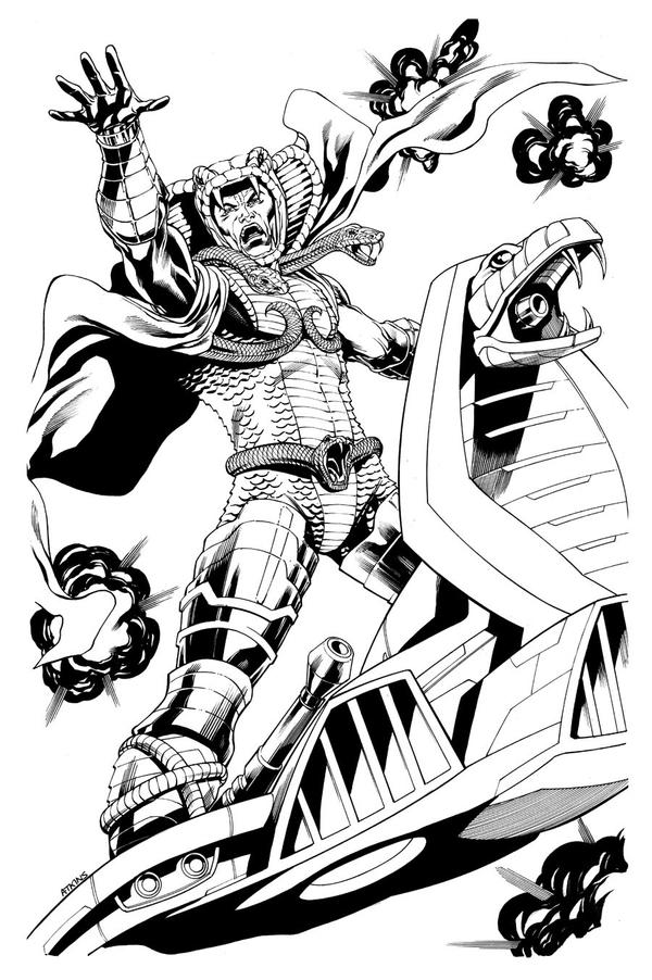 Cobra Serpentor by RobertAtkins