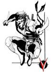 Ninjak Valiant sketch