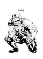 Watchmen - Comedian by RobertAtkins