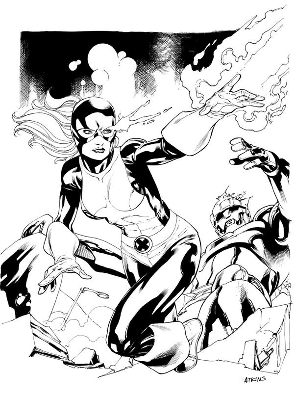 Jean Grey Original X-Men by RobertAtkins