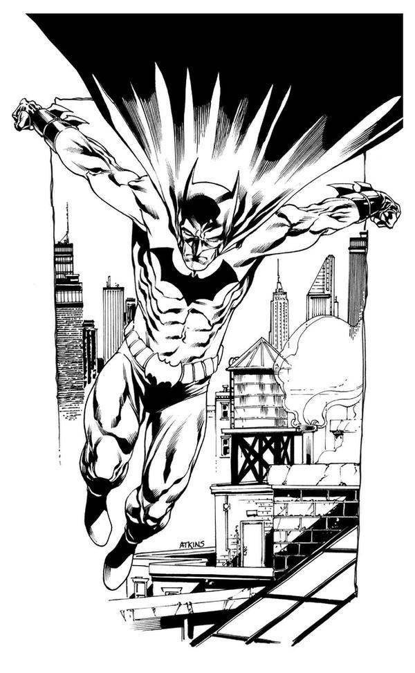 Heroes Con sketch Batman by RobertAtkins