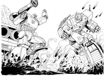 DS 675 Transformers Inks