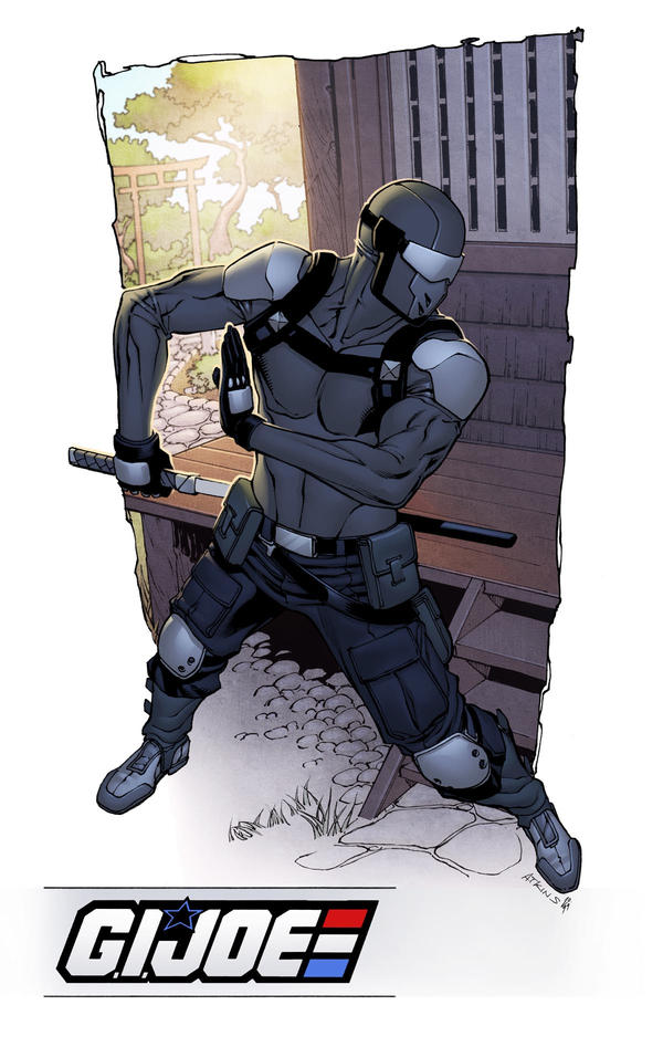 IDW Signature Plates Snake Eyes Resolute colors by RobertAtkins