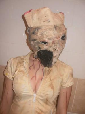 Silent Hill Nurse 01 by NoodleNoo
