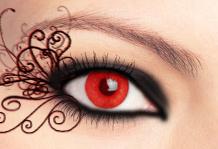 Red Eye Beauty by debussy-88