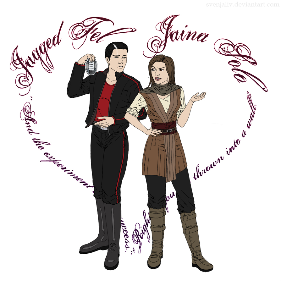 SWC - Jaina and Jagged by SvenjaLiv