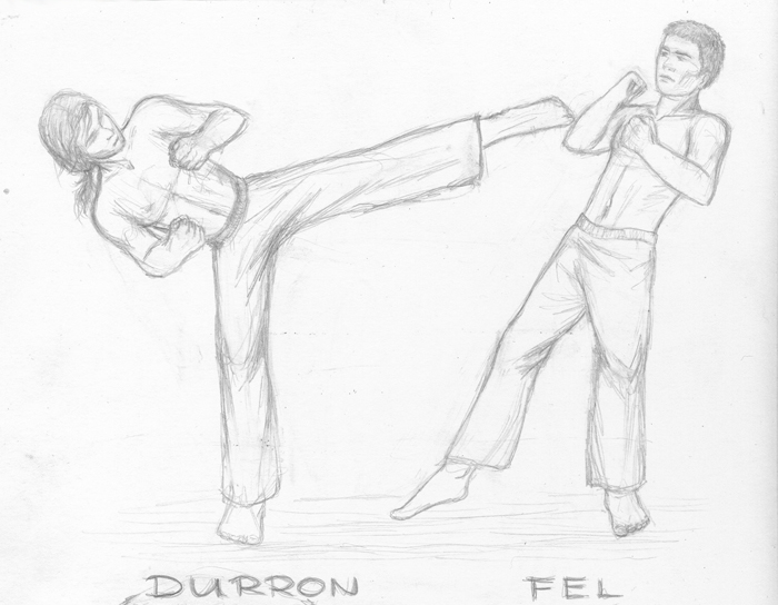Durron vs Fel sketch by SvenjaLiv