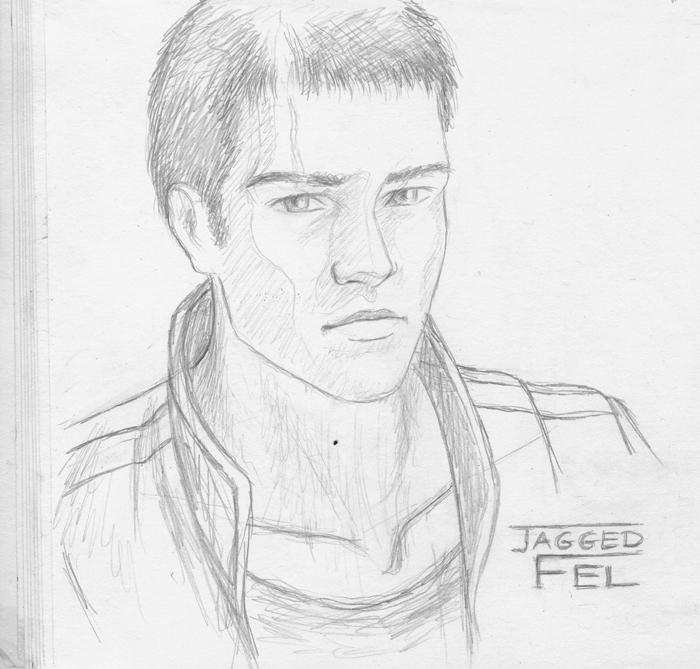 Jag sketch by SvenjaLiv