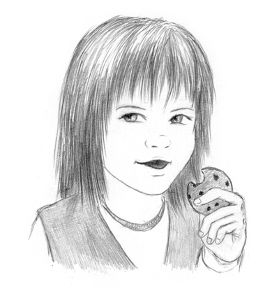 Cookie Thief Jaina by SvenjaLiv