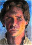 Han Solo sketch card