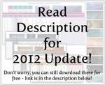 NaNoWriMo 2012 tracker pack