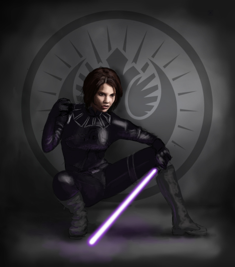 Sword of the Jedi WIP by SvenjaLiv