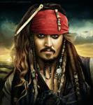 Captain Jack Sparrow - in colour