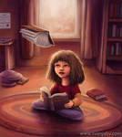 Little Bookworm - Hermione Granger