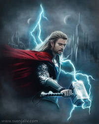 Thor by SvenjaLiv
