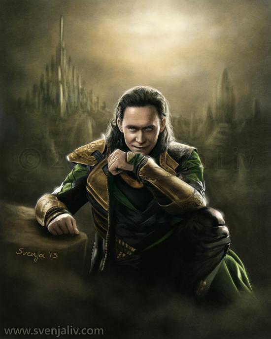 Loki by SvenjaLiv