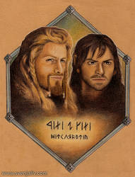 Fili and Kili - Heirs of Durin