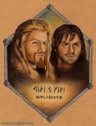 Fili and Kili - Heirs of Durin
