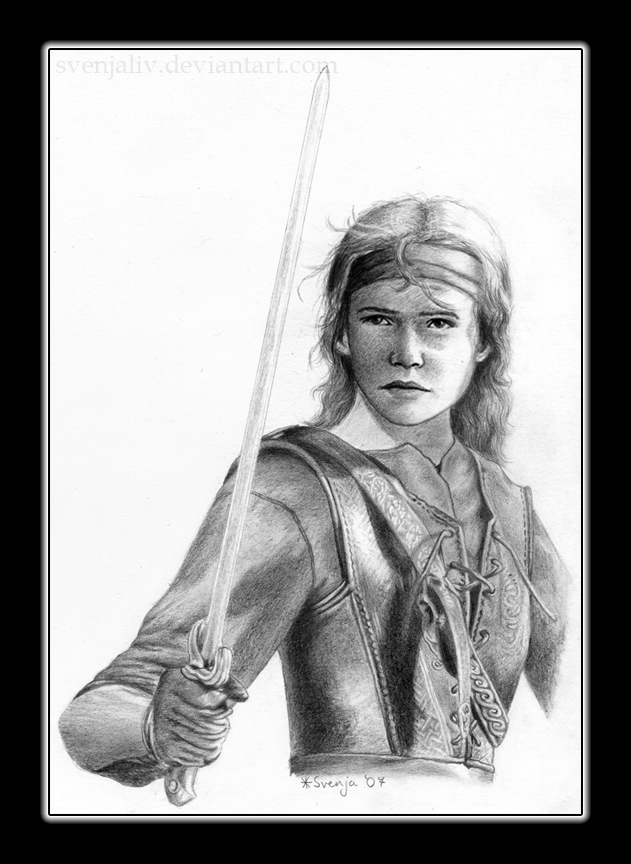 Warrior Girl by SvenjaLiv