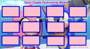Sonic Pairing Controversy meme