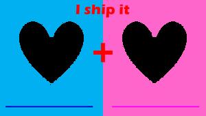 I ship it meme - STRAIGHT version