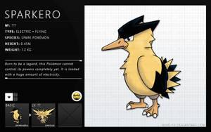 Fakemon - Sparkero by Neko-13