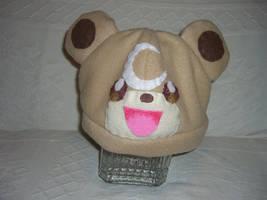 Teddiursa hat by PokeMama