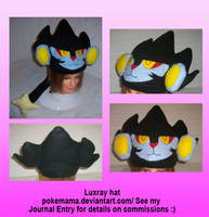 Luxray hat by PokeMama