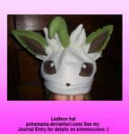 Leafeon hat
