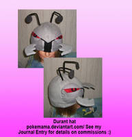 Durant hat by PokeMama