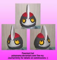 Pawniard hat by PokeMama