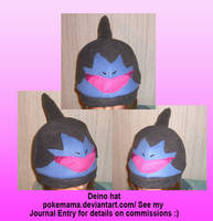Deino hat by PokeMama