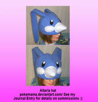 Altaria hat by PokeMama